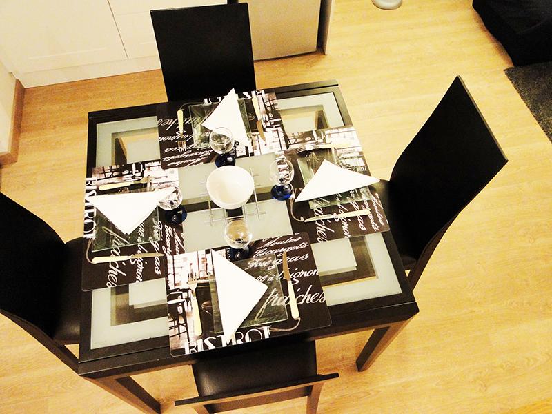 La table à manger vue d'en haut :)