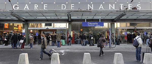 Réservation hôtel / gite Gare de Nantes
